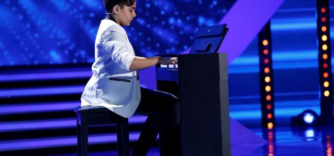 """Fiul lui Nicolae Guță cântă muzică de Chopin la """"Next Star"""""""