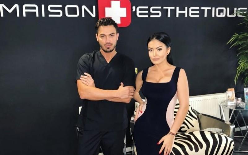 Stomatologul Valentin Răducanu a ajutat-o pe Andreea Mantea să aibă un zâmbet de Hollywood