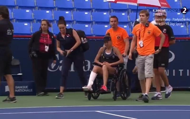 Mihaela Buzărnescu s-a retras de la US Open cu trei ore înainte de începerea meciului