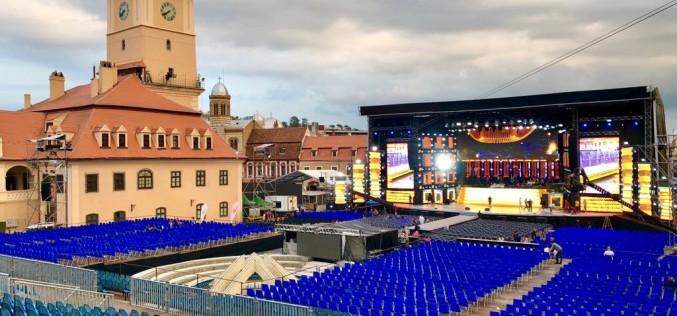 Scenă fabuloasă la Festivalul Cerbul de Aur din Braşov