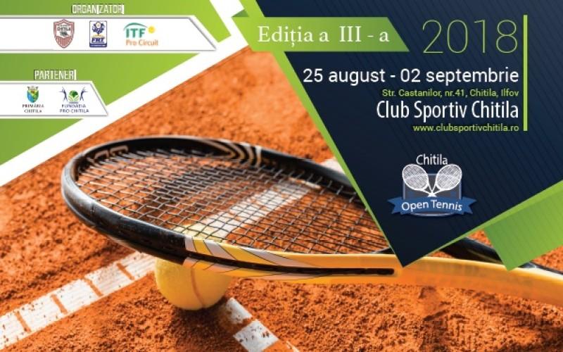 Peste 60 de sportivi participă la turneul ITF, Chitila Open 2018