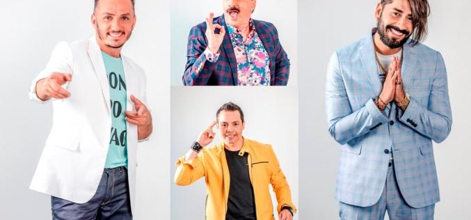 """Connect-R, Trăistariu, Romică Țociu, Alin Gheorghișan și Jean de Craiova, concurenți la """"Te cunosc de undeva!"""""""