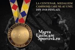 Votează legendele sportului românesc în campania Marea Unificare Sportivă, lansată de Fundația Alexandrion