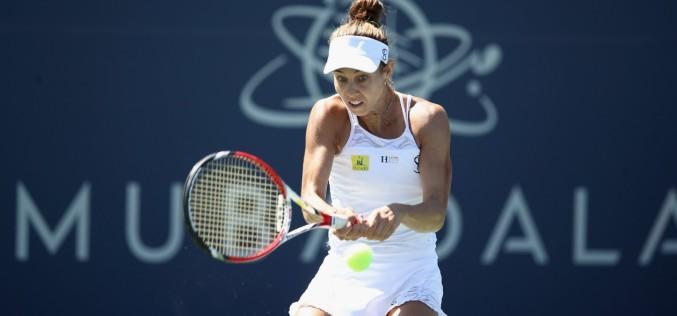 Mihaela Buzrănescu defilează la San Jose. Românca s-a calificat în sferturi de finală