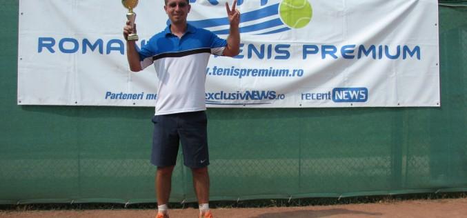 Dragoş Nicolae a câştigat turneul de tenis RTP exclusivNEWS Cup 2018
