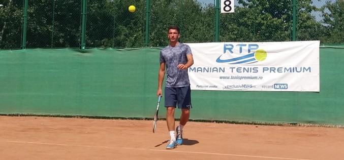 Sebastian Popa, de neoprit în circuitul RTP. A cucerit turneul RTP Bucureşti Open