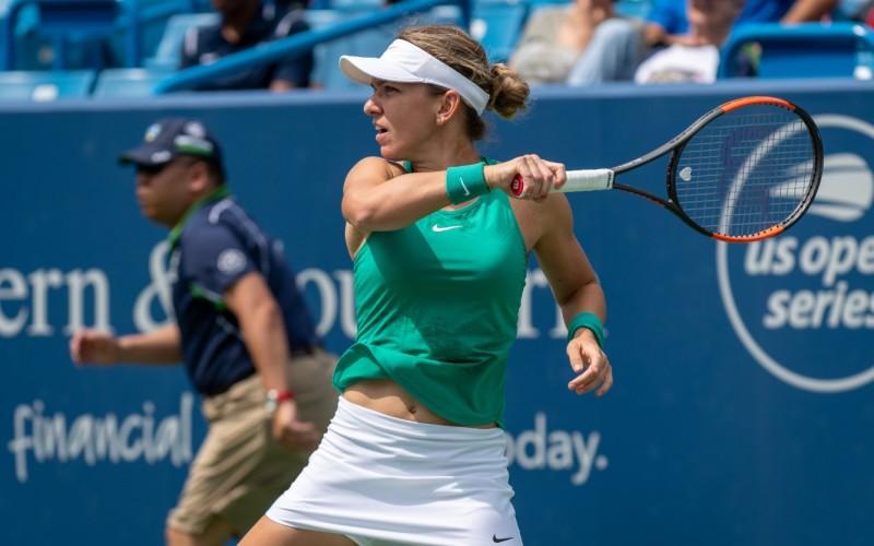 Simona Halep, o nouă victorie fabuloasă la Cincinnati. Românca este calificată în sferturi de finală