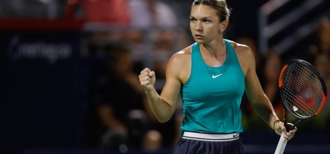 Simona Halep, victorie superbă în miez de noapte. S-a calificat în semifinale la Rogers Cup