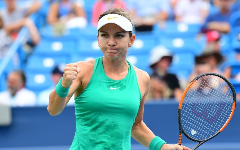 Simona Halep, victorie uriaşă la Cincinnati. Românca va juca finala turneului din SUA
