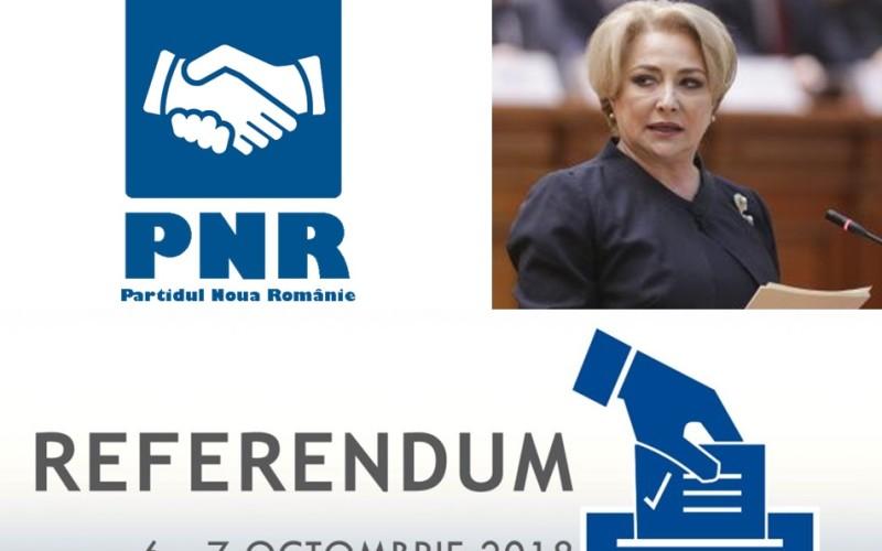 PNR lansează acuzaţii grave la adresa Guvernului. Pregătesc fraudarea referendumului!