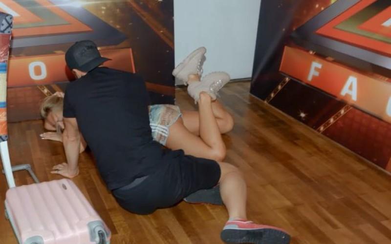 Delia s-a accidentat în culisele X Factor România
