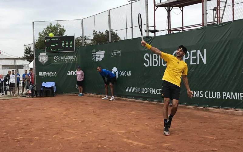 Dragoş Dima, succes uriaş la Sibiu. A câştigat turneul ATP Challenger. E cea mai mare performanţă a sa!