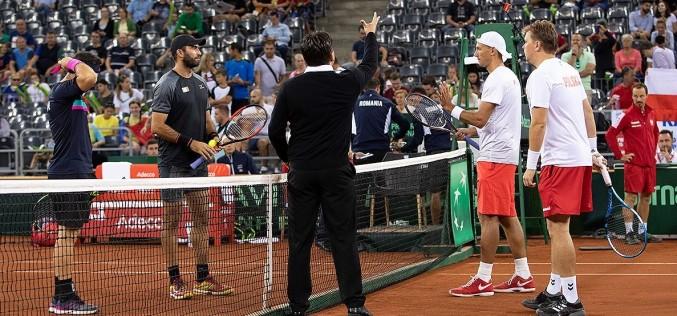 Florin Mergea şi Horia Tecău, victorie dramatică în partida cu Polonia din Cupa Davis