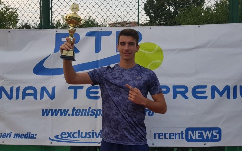 Sebastian Popa este noul lider RTP. Jucătorul din Slobozia a cucerit turneul RTP Gold Cup 2018