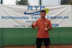 Sorin Bădărău, victorie dramatică în finala turneului Exclusiv NEWS Tenis Cup 2018