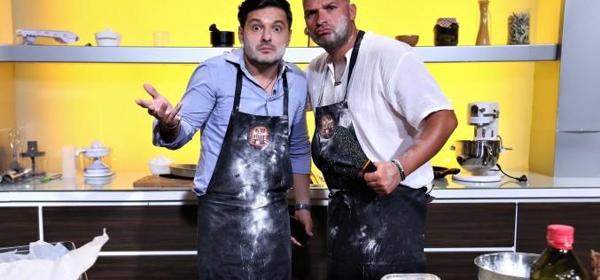 """Liviu Vârciu și Andrei Ștefănescu, dau nas în nas cu jurații """"Chefi la cuțite"""""""