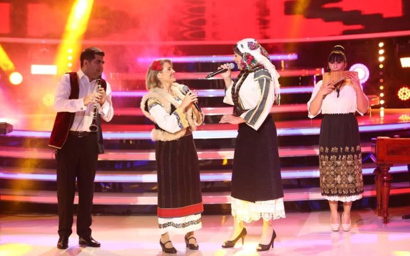 Mirela Vaida cântă cu Alin Gheorghișan la Te cunosc de undeva!