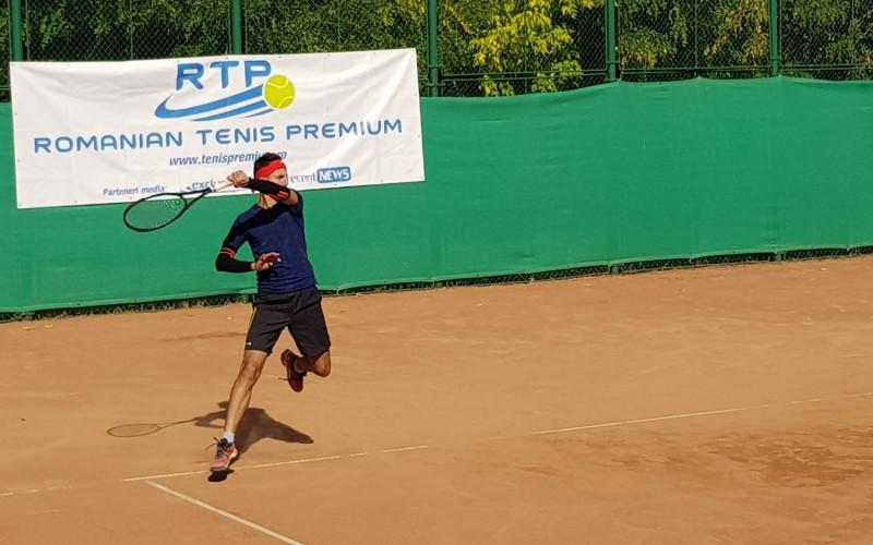 Adrian Moroşan, finală dramatică în circuitul RTP, câştigată la punct decisiv