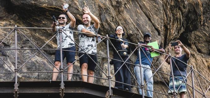 Gina, Liviu şi Andrei, primele impresii despre Sri Lanka