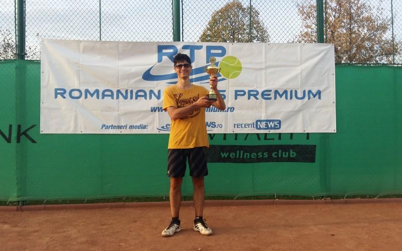 Claudiu Băluţă este noul campion al RTP. A cucerit turneul RTP CRISTAL CUP 2018