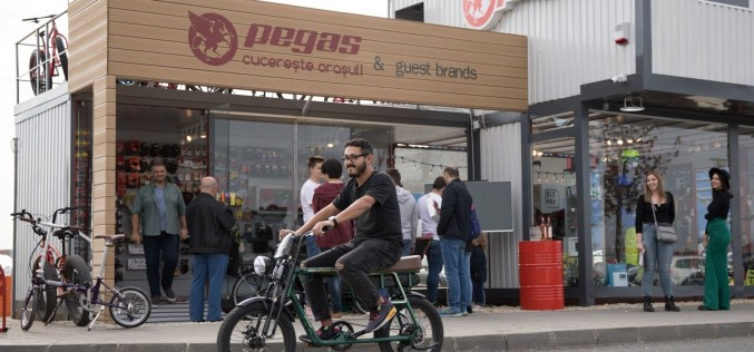 Pegas a deschis un magazin în Băneasa