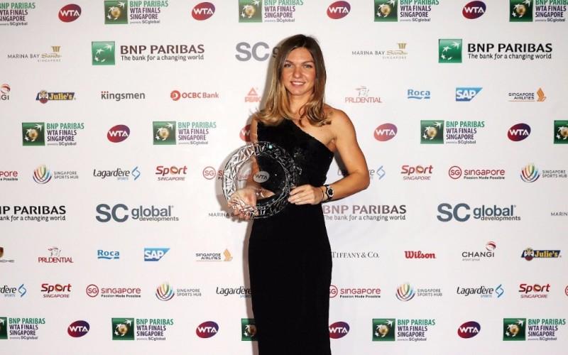 Simona Halep, desemnată în premieră, cea mai bună jucătoare din lume!