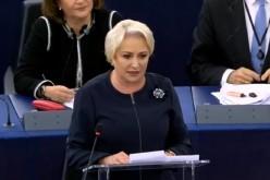 Viorica Dăncilă, discurs tranşant în Parlamentul European: Nu am venit să dau socoteală!