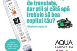 AQUA Carpatica a lansat o platformă online care îţi câte lichide trebuie să consume copii