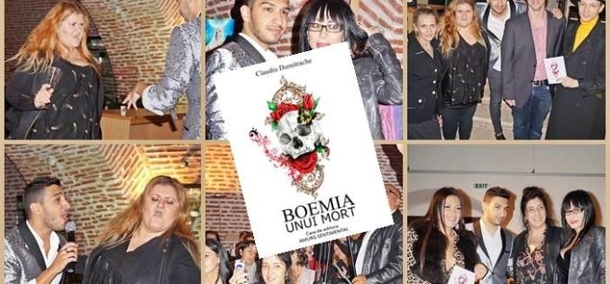 """Palatul Brancovenesc, gazda lansării cărţii """"Boemia unui Mort"""", scrisă de Claudiu Dumitrache"""