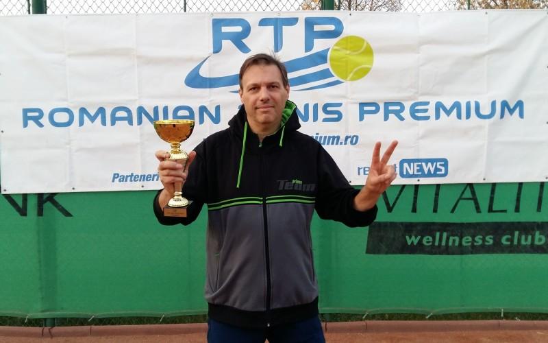 Cristian Ivanenco a câştigat ultimul turneu RTP din 2018, RTP OPEN GOLD