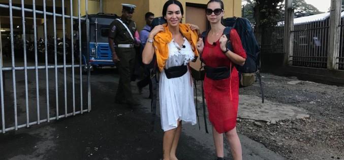 Iuliana Luciu şi Margherita de la Clejani au dormit o noapte la poliţie în Sri Lanka