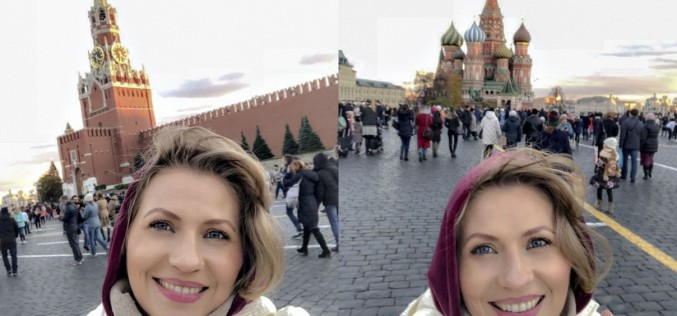 Mirela Vaida, peripeții la Moscova la aniversarea zilei de naștere a soțului ei