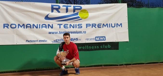 Sebastian Popa a câştigat prima ediţie a Turneului Campionilor RTP