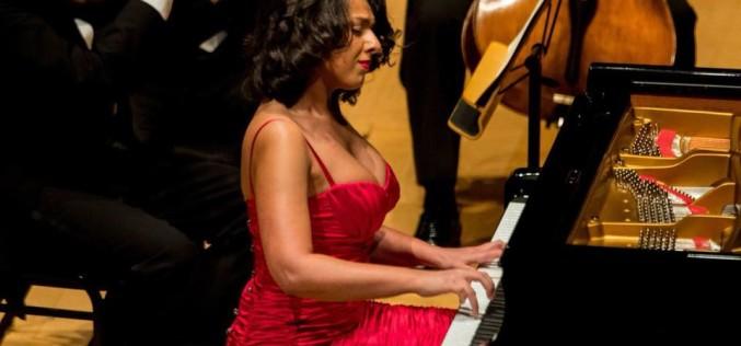 Khatia Buniatishvili și Horia Andreescu cântă la Ateneului Român la concertul aniversar al Filarmonicii George Enescu