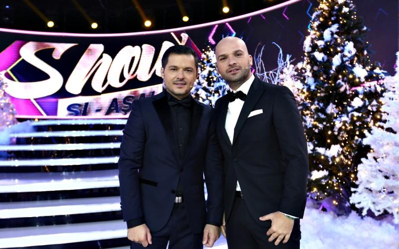 Liviu Vârciu și Andrei Ștefănescu dau startul petrecerii de Revelion de la Antena 1