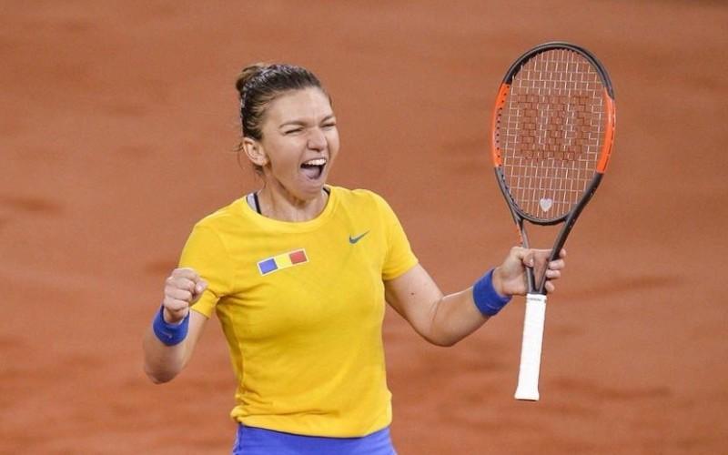 Simona Halep stabileşte un nou record în ultima săptămână din 2018