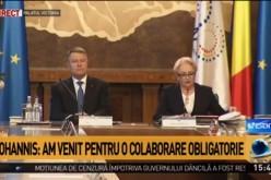 Iohannis a descins la Guvern. Premierul Viorica Dăncilă s-a trezit cu Preşedintele la şedinţa de guvern