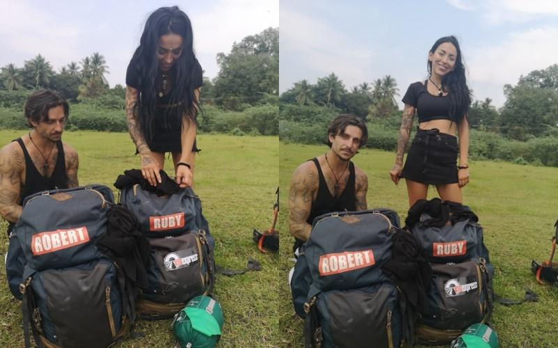 Iată cum îşi usucă Ruby hainele la reality show-ul Asia Express