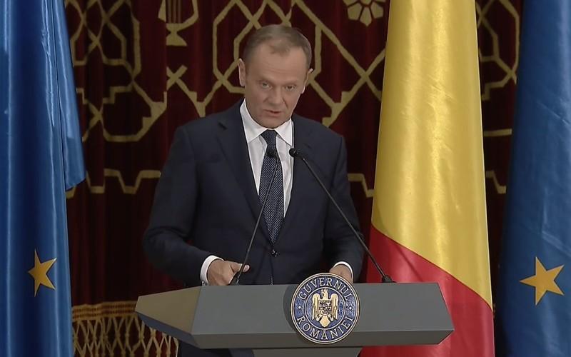 Preşedintele Consiliului European, discurs impecabil în limba română la ceremonia oficială de la Ateneul român