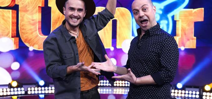 Dan Badea şi Șerban Copoț prezintă cel de-al șaselea sezon iUmor