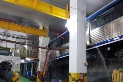 Metroul din Bucureşti a deraiat. Trenul a scăpat de sub control