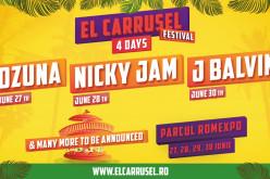 """J Balvin, Nicky Jam şi Ozuna cântă în România, la Bucureşti la """"El Carrusel Festival"""""""