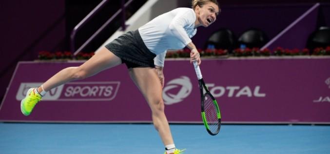 Simona Halep, calificare dramatică în semifinale la turneul de la Doha