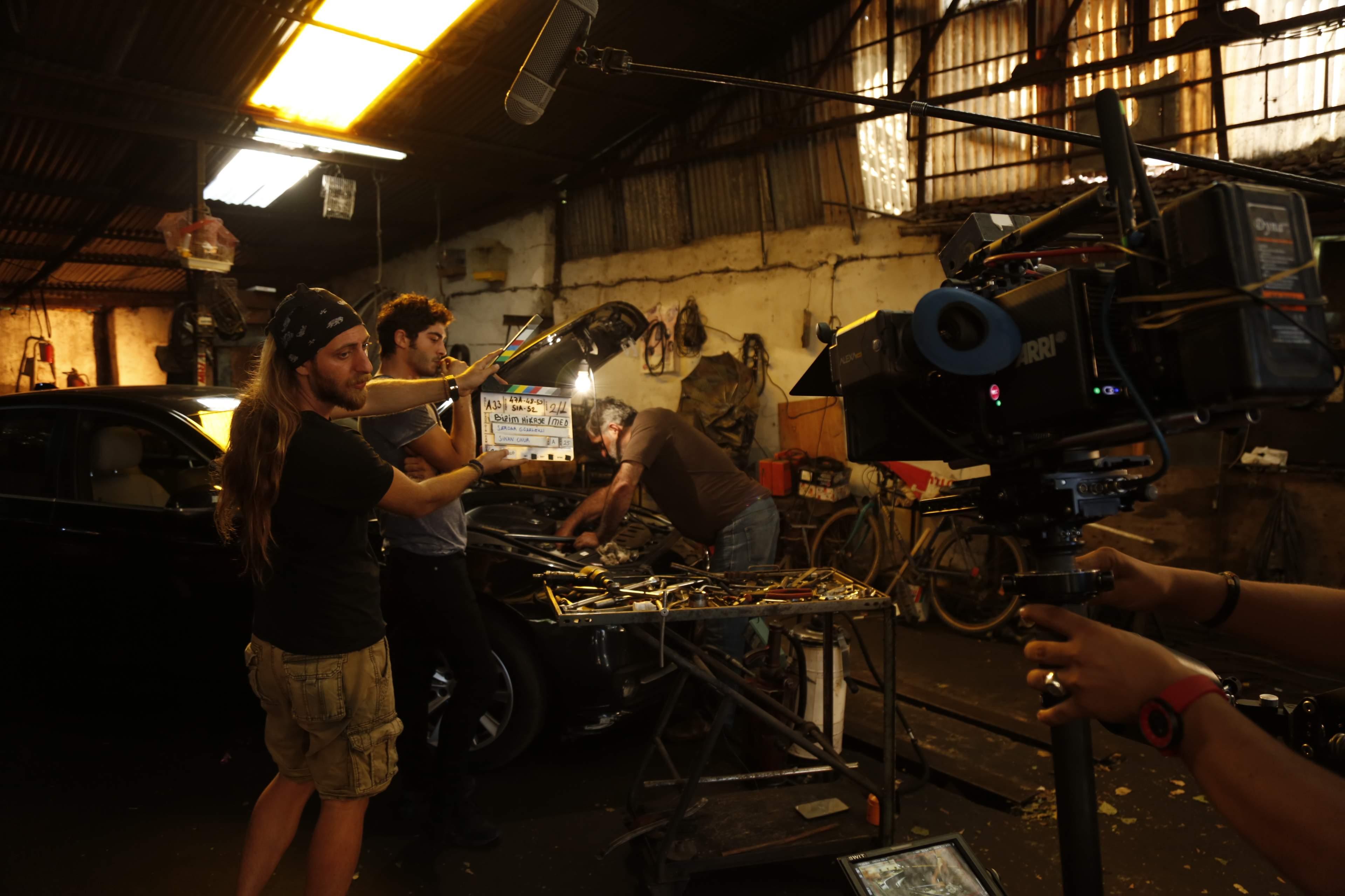 making of serial Povestea noastra (10)