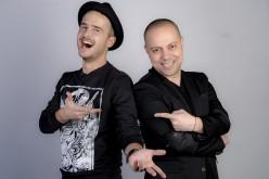 """Dan Badea, """"antrenat"""" în meseria de părinte de colegul său de emisiune, Șerban Copoț"""