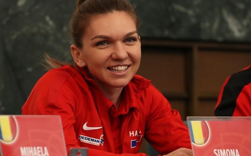 Simona Halep, victorie zdrobitoare în Fed Cup, contra Cehiei