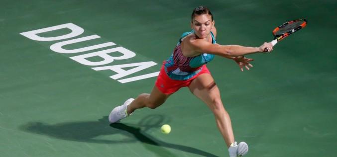 Simona Halep revine cu victorie la turneul din Dubai