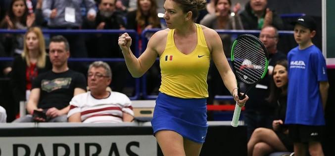 România, victorie uriaşă în Fed Cup. S-a calificat în semifinale graţie lui Halep, Begu şi Niculescu