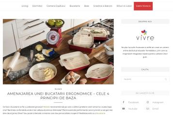 Vivre.ro, surse infinite de inspirație pentru design interior și lifestyle
