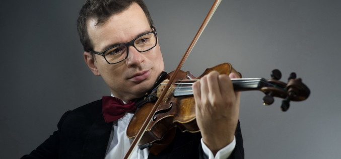 Alexandru Tomescu, vioara Stradivarius Elder-Voicu și dirijorul libanez Lubnan Baalbaki, concert la Sala Radio!